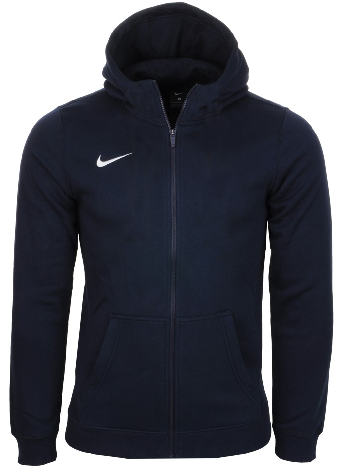 Bluza z kapturem Team Club 19 Junior Nike (niebieska