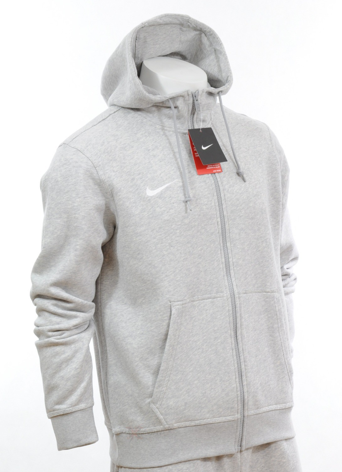0915 new mens fleece nike full zip hooded sweatshirt top. Black Bedroom Furniture Sets. Home Design Ideas