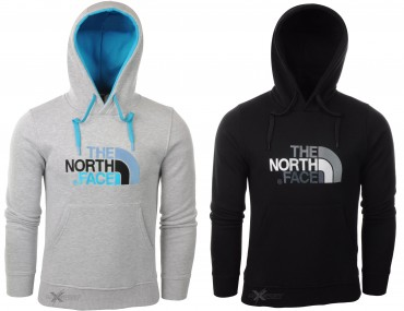 Bluza The North Face męska bawełniana z kapturem
